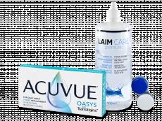 Acuvue Oasys with Transitions (6 лінз) + розчин Laim-Care  400 ml