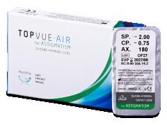 TopVue Air for Astigmatism (1 лінза)