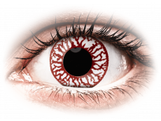 ColourVUE Crazy Lens - Blood Shot - Одноденні недіоптричні (2шт.)