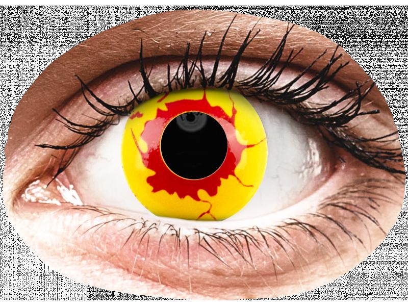 ColourVUE Crazy Lens - Reignfire - Одноденні недіоптричні (2шт.)