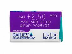 Dailies AquaComfort Plus Multifocal (90 шт.)