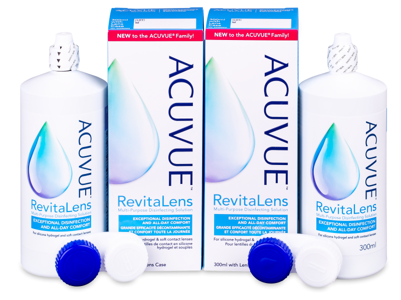 Розчин Acuvue RevitaLens 2 x 300 ml