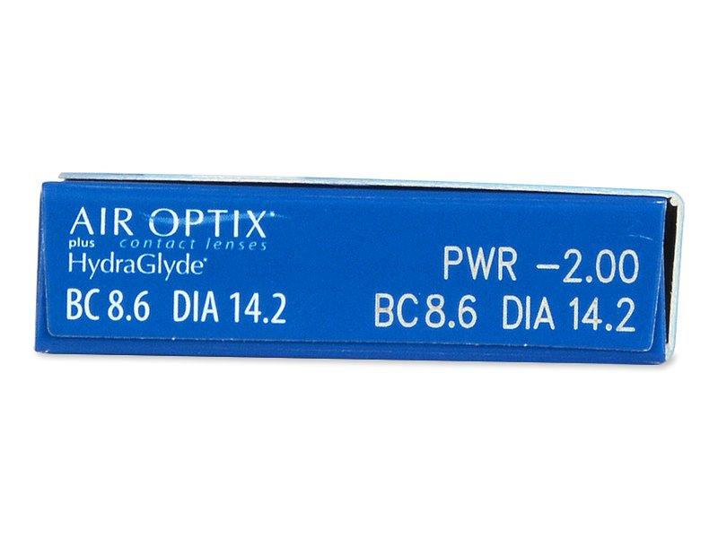 Air Optix plus HydraGlyde (6 шт.)