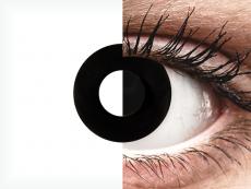 CRAZY LENS - Black Out - Одноденні діоптричні (2 шт.)