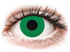 CRAZY LENS - Emerald Green - Одноденні діоптричні (2 шт.)