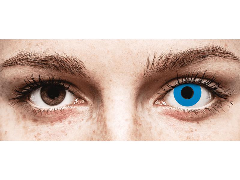 CRAZY LENS - Sky Blue - Одноденні діоптричні (2 шт.)