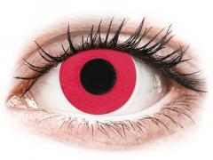 CRAZY LENS - Solid Red - Одноденні недіоптричні (2 шт.)