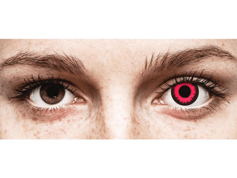 CRAZY LENS - Vampire Queen - Одноденні діоптричні (2 шт.)