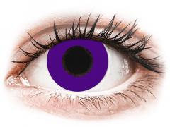 CRAZY LENS - Solid Violet - Одноденні діоптричні (2 шт.)