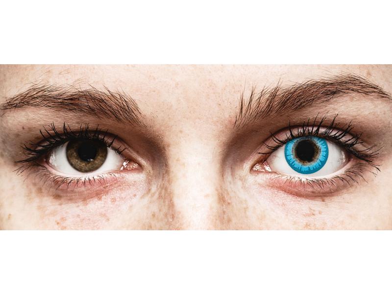 CRAZY LENS - White Walker - Одноденні діоптричні (2 шт.)