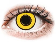 CRAZY LENS - Yellow Twilight - Одноденні діоптричні (2 шт.)