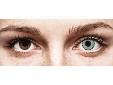 CRAZY LENS - Zombie Virus - Одноденні діоптричні (2 шт.)