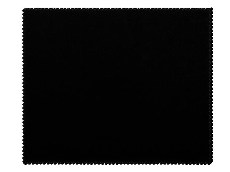 Очищуюча серветка для окулярів - чорна