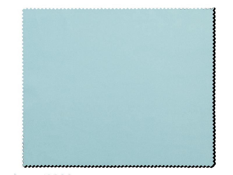 Очищаюча серветка для окулярів - блакитна
