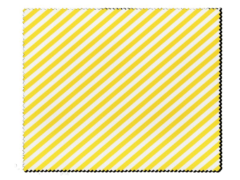 Очищаюча серветка для окулярів - жовто-біла