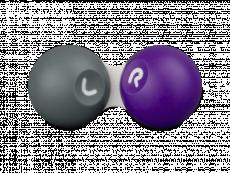 Контейнер для контактних лінз - Сірий & фіолетовий