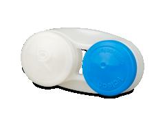 Контейнер для лінз антибактеріальний - блакитний