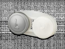 Контейнер для лінз антибактеріальний - сірий