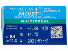 1 Day Acuvue Moist Multifocal (30 шт.)