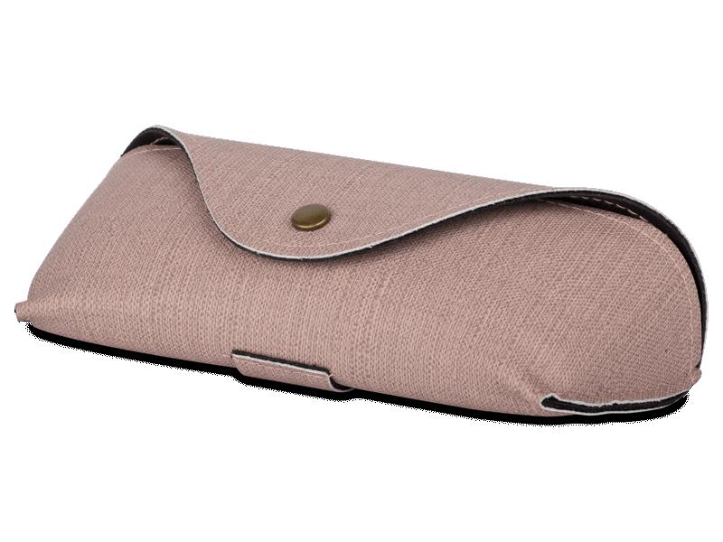 Рожевий футляр для окулярів SH224-1