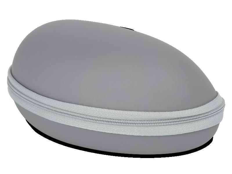Сірий футляр для окулярів BL031