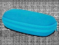 Футляр для окулярів на блискавці дитячий - блакитний