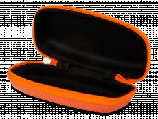 Футляр для окулярів на блискавці дитячий - помаранчевий