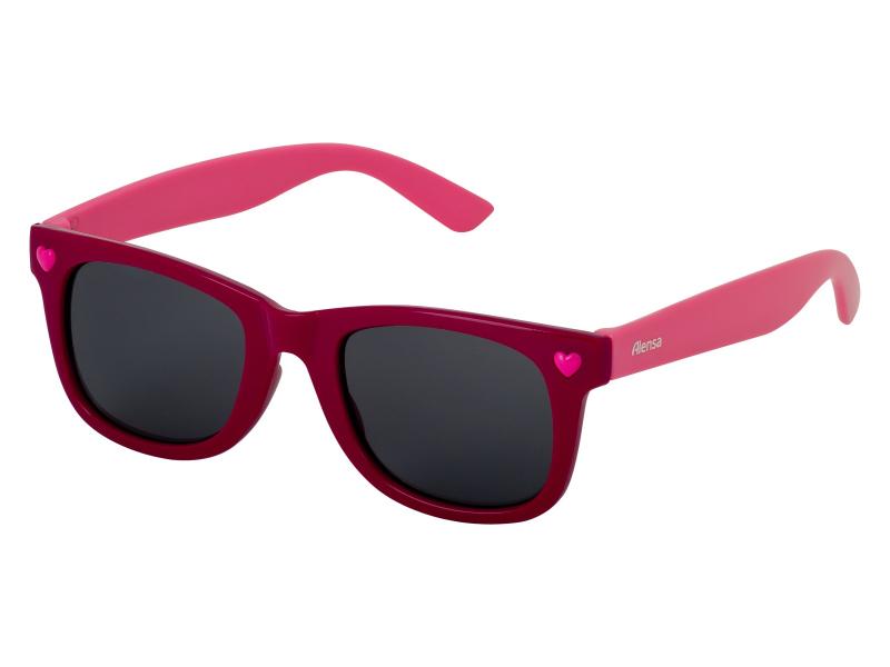Дитячі сонцезахисні окуляри Alensa Red Pink