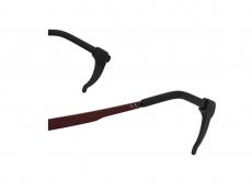 Вушні затискачі проти ковзання для окулярів - чорні