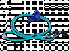Шнур для окулярів синій кольору - дельфін