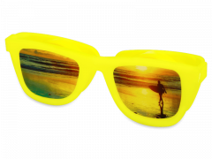 OptiShades Контейнер для лінз  - жовтий