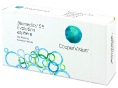Biomedics 55 Evolution (6шт.)