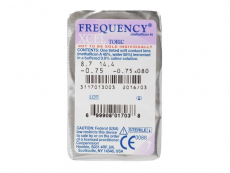 FREQUENCY XCEL TORIC (3шт.)