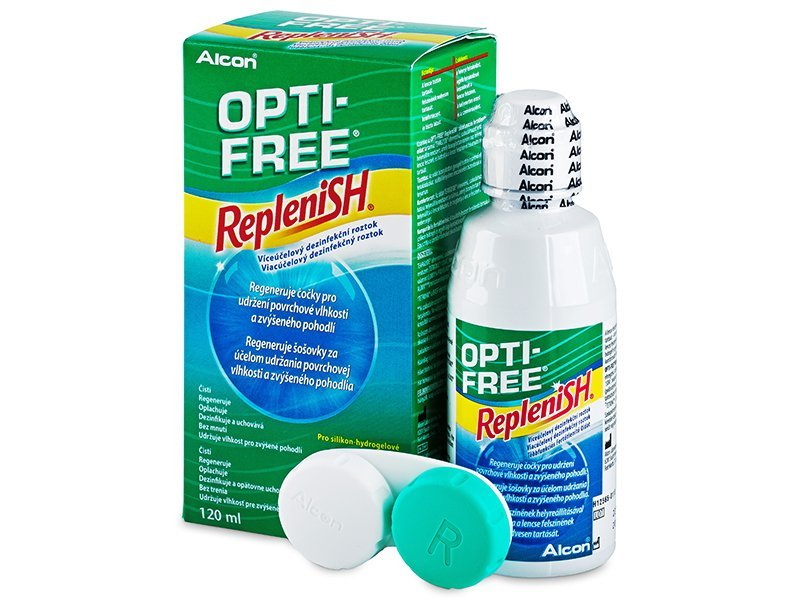 Розчин OPTI-FREE RepleniSH 120ml