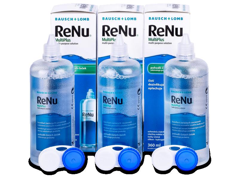 Розчин ReNu MultiPlus 3x360ml