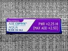 Air Optix Aqua Multifocal (3шт.)