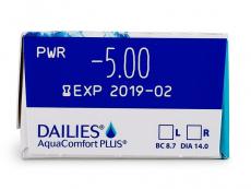 Dailies AquaComfort Plus (30шт.)