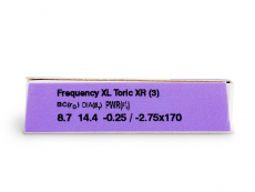 FREQUENCY XCEL TORIC XR (3шт.)