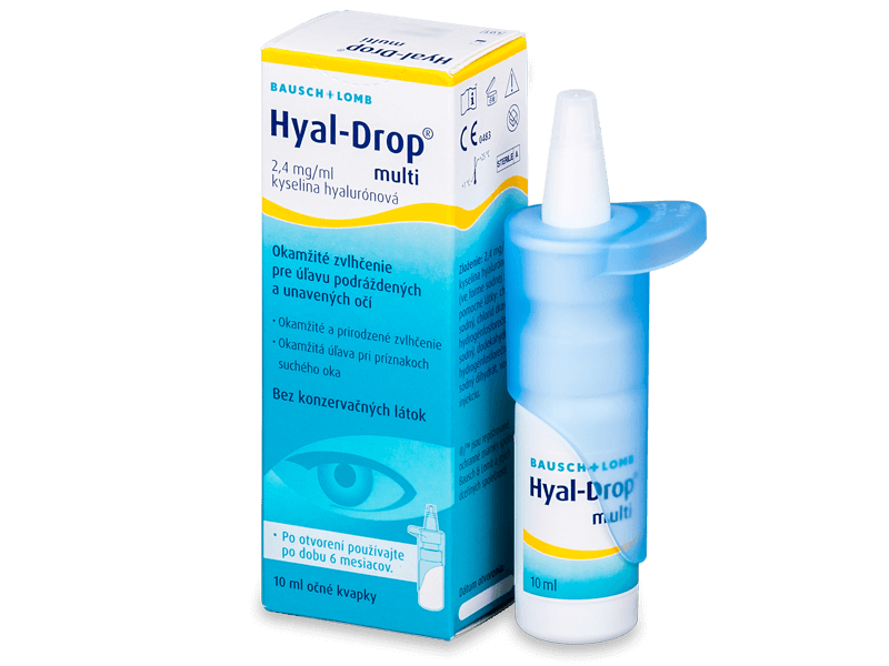 Очні краплі Hyal-Drop Multi 10 ml