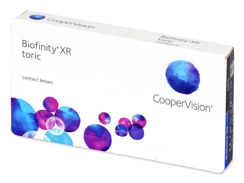 Biofinity XR Toric (3 лінзи)