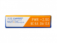 Air Optix Night and Day Aqua (3шт.)